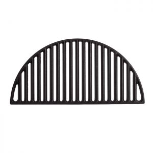 Kamado Joe Half Moon Cast Iron Cooking Grate– Classic Joe