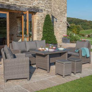 Kettler Palma Sofa Set, Natural - 7 Seater