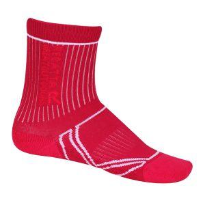 Regatta Children's 2 Season Trek & Trail Socks, Pack of 2 – Pink