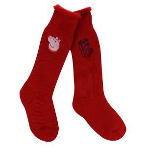 Regatta Children's Peppa Pig Wellington Socks, Pack of 2 – Red