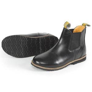 Shires Children's Moretta Fiora Jodhpur Boots - Black