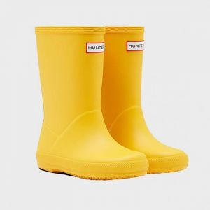 Hunter Original Kids First Classic Wellington Boots – Yellow