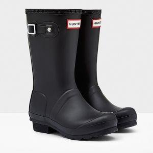Hunter Original Children's Wellington Boots - Black
