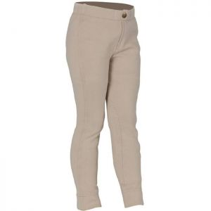 Shires Children's Wessex Jodhpurs - Beige