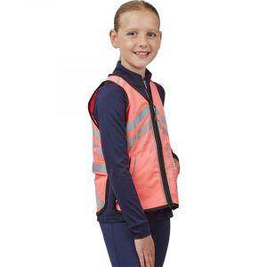 Weatherbeeta Reflective Children's Waistcoat – Pink