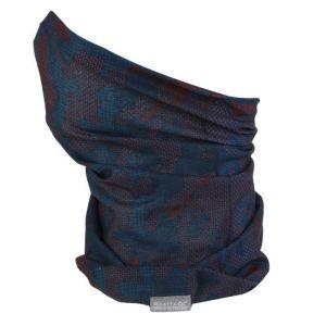 Regatta Children's Multitube Scarf Mask – Orange Teal