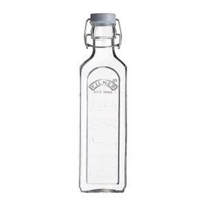 Kilner Square Clip Top Bottle – 600ml