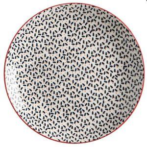 Maxwell & Williams Boho Plate, 27cm - Kiraku Blue