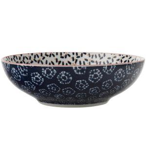 Maxwell & Williams Boho Coupe Bowl, 18cm - Kiraku Blue