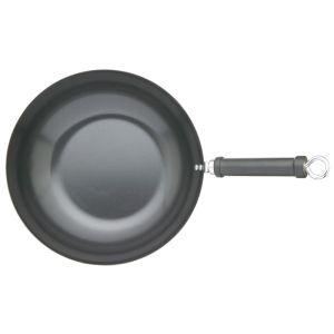 KitchenCraft Oriental Carbon Steel Non-Stick Wok - 30cm