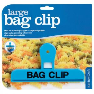 KitchenCraft Plastic Bag Clip - Large