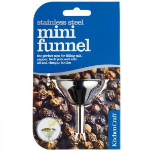 KitchenCraft Stainless Steel Mini Funnel