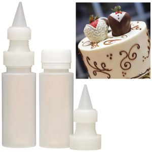 KitchenCraft Icing Bottles - 2 Pack