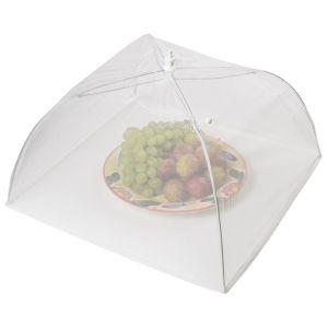 KitchenCraft Nylon Umberella Food Cover - White