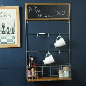 Kitchen Rack with Blackboard