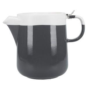 La Cafetière Barcelona Teapot, 1200ml - Grey