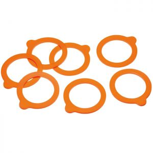 Home Made Replacement Silicone Jar Sealing Rings - Pack of 10