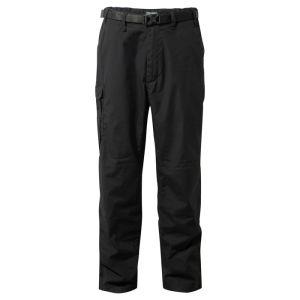 Craghoppers Men's Kiwi Classic Trousers – Regular, Black