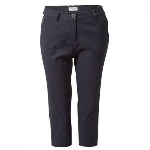Craghoppers Womens Kiwi Pro Cropped Trousers - Dark Navy