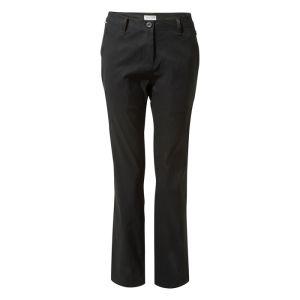 Craghoppers Women's Kiwi Pro II Trousers – Regular, Black