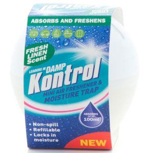 Kontrol Mini Moisture Absorber and Air Freshener - Fresh Linen