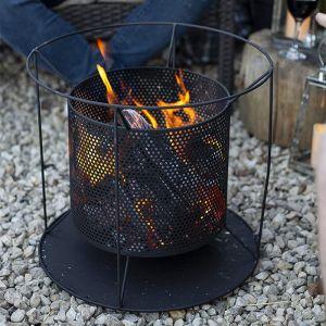 La Hacienda Kora Perforated Firebasket