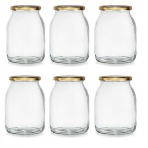 6 x Screw Top Jam Jar, 33.8oz
