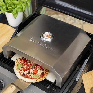 La Hacienda BBQ Pizza Oven – Stainless Steel