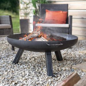 La Hacienda Pittsburgh Medium Steel Firepit