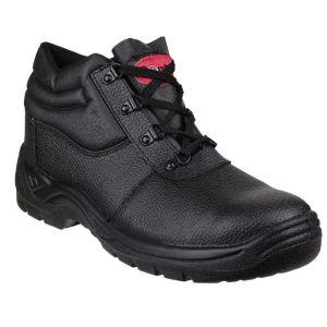 Centek Lace-up Safety Boot – Black