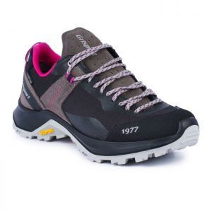 Grisport Women's Trident Low Walking Boot – Grey / Pink