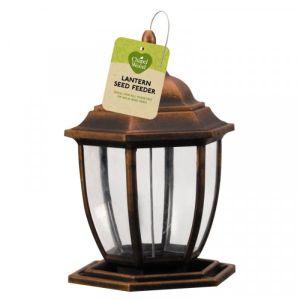 Chapel Wood Lantern Seed Feeder