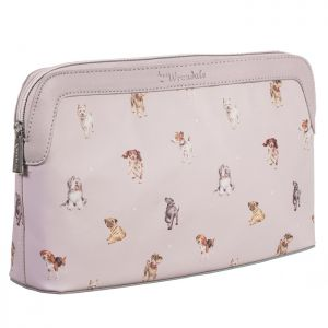 Wrendale Designs Large 'Woof' Dog Cosmetic Bag