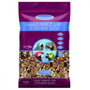 Johnston and Jeff Low Sunflower Mix for Large Parrots - 12.75kg