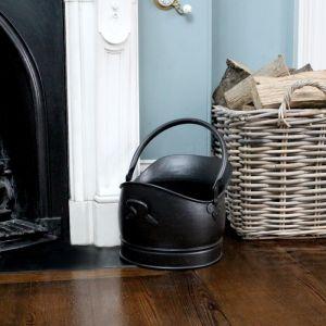 Large Coal Bucket - Black