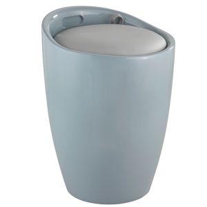Wenko Candy Bathroom Stool - Grey