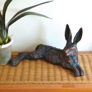 Home & Garden Lazy Hare Ornament