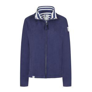 Lazy Jacks Ladies' Full Zip Sweatshirt - Twilight Navy