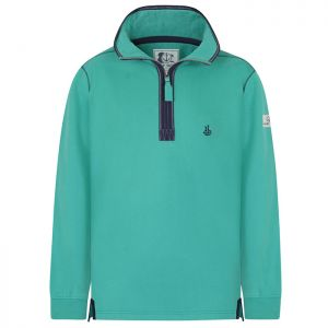 Lazy Jacks Men's 1/4 Zip Sweatshirt - Green
