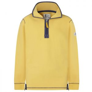 Lazy Jacks Men's 1/4 Zip Sweatshirt - Maize Yellow
