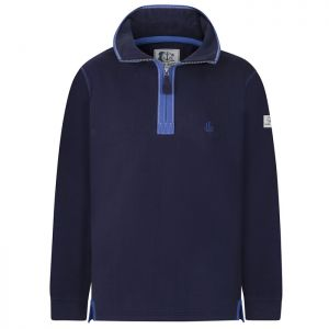 Lazy Jacks Men's 1/4 Zip Sweatshirt - Marine Navy