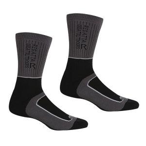 Regatta Women's Samaris 2 Season Socks, Pack of 2 – Briar