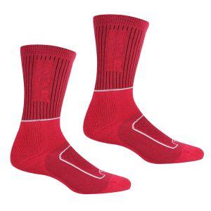 Regatta Women's Samaris 2 Season Socks, Pack of 2 – Cherry