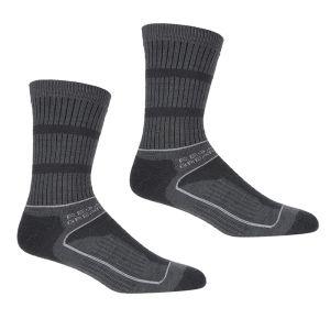 Regatta Women's Samaris 3 Season Socks, Pack of 2 – Briar