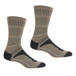 Regatta Women's Samaris 3 Season Socks, Pack of 2 – Moccasin