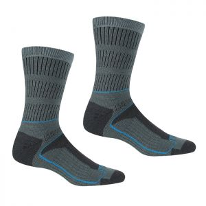 Regatta Women's Samaris 3 Season Socks, Pack of 2 – Stormy