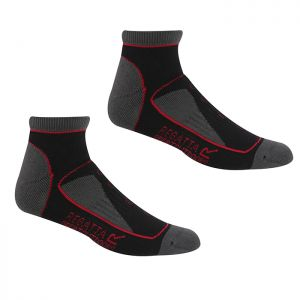 Regatta Women's Samaris Trail Socks, Pack of 2 – Black