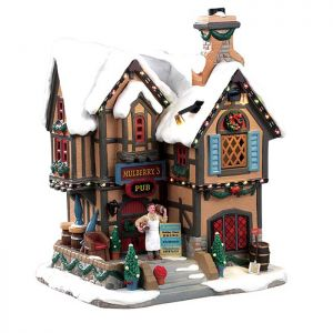 Lemax Christmas Figurine - Mulberry's Pub