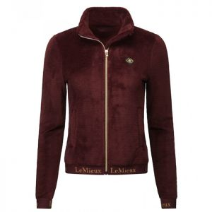 LeMieux Women's Liberte Fleece Jacket - Rioja