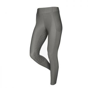 LeMieux Activewear Pull On Breeches – Grey